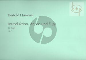 Introduktion-Arioso und Fuge Op.4