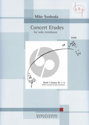 Concert Etudes Vol.1 for Trombone