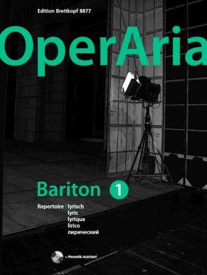 Album OperAria Bariton Vol.1 (Lyric Repertoire) Book with Cd (edited by Peter Anton Ling)