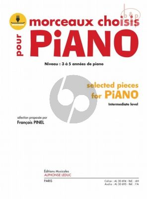 Morceaux Choisies (Selected Piano Pieces for the intermediate level)