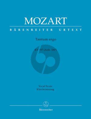 Tantum ergo KV197 (Anh. 186e) SATB-Orchester Klavierauszug