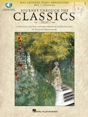 Journey through the Classics Vol.1 (Piano) (Book with Audio online)