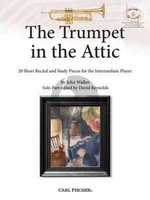 The Trumpet in the Attic (20 Short Recital and Study Pieces for the Intermediate Player) (Trumpet-Piano)