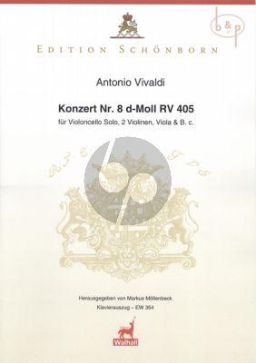 Concerto d-minor No. 8 RV 405 Violoncello-2 Vi.- Va.-Bc.