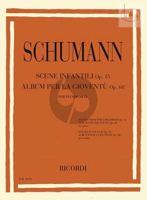 Album for the Young Op.68 and Scenes of Childhood Op.15 for Piano