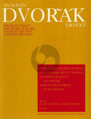 Dvorak Streichquartett No. 9 d-Moll Op. 34 Stimmen