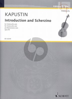 Introduction and Scherzino Op.93 for Cello