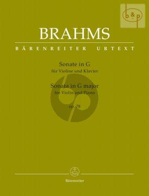 Sonata G-major Op.78 (Violin-Piano)