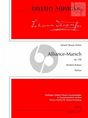 Alliance-Marsch Op.158 (Orch.)