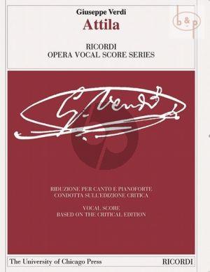 Attila Vocal Score