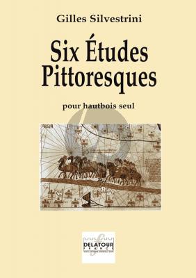 Silvestrini 6 Etudes Pittoresques Hautbois Seul