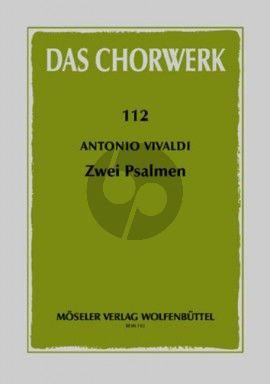 2 Psalmen SATB-Streicher-Bc) Partitur (Raimond Ruegge)ivaldi 2 Psalmen SATB-Streicher-Bc) Partitur (Raimond Ruegge)