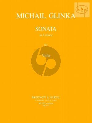 Sonata d-minor for Viola and Piano