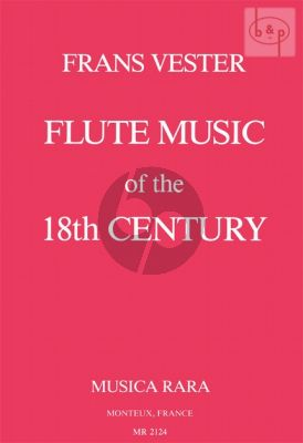 Flute Music of the 18th. Century