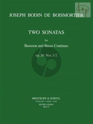 2 Sonatas Op.50 No.1 - 2 Bassoon-Bc