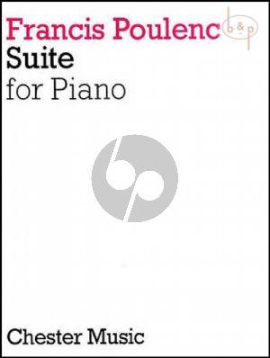 Poulenc Suite for Piano solo