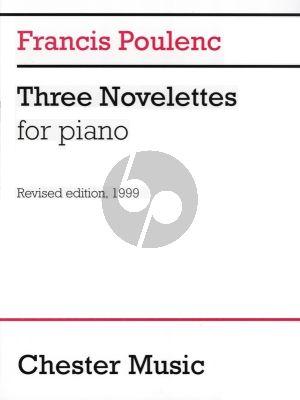 Poulenc 3 Novelettes (C-major, B-flat minor and E-minor) Piano solo (revised edition of 1999)