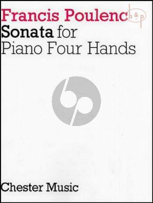 Sonata Piano 4 Hands