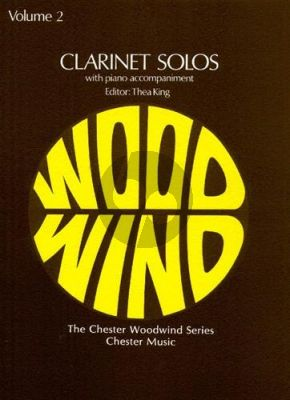Clarinet Solos Vol. 2 (edited by Thea king)