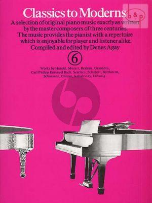 Classics to Moderns Vol.6