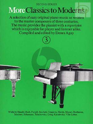 More Classics to Moderns Vol.3