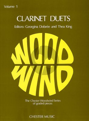 Clarinet Duets Vol. 1 (edited by Georgina Dobree and Thea King)
