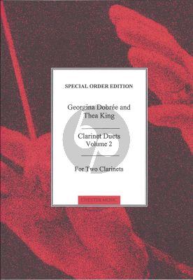 Clarinet Duets Vol. 2 (edited by Georgina Dobree and Thea King)