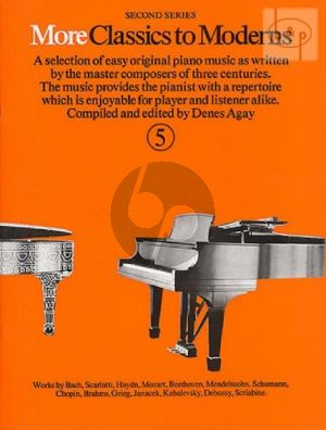 More Classics to Moderns Vol.5