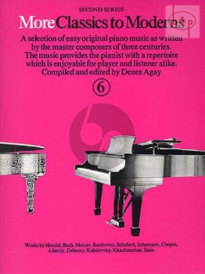 More Classics to Moderns Vol.6
