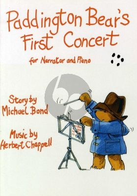 Chappell Paddington Bear's First Concert Narrator and Piano