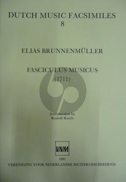 Brunnenmuller Fasciculus Musicus (1711) Harpsichord (Rudolf Rasch)