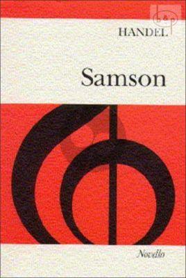 Samson HWV 57 (SATB Soli-SATB-Orchestra)