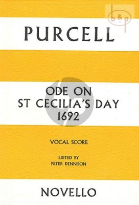 Ode on St Cecilia's Day 1692 (SAATBB Soli, SSAATB Chorus & Instr.)