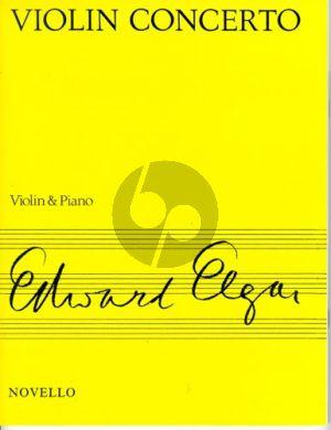 Elgar Concerto Op.61 Violin-Orchestra (piano red.)