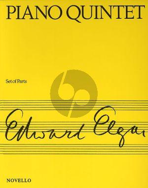 Elgar Piano Quintet Op.84 Piano-2 Vi.-Va.-Vc. (Score/Parts)