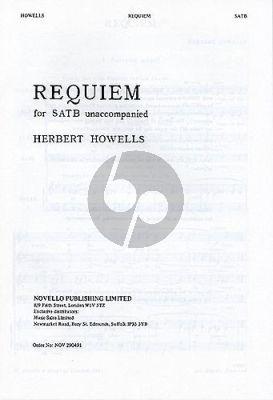 Howells Requiem SATB