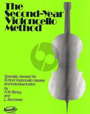 Second Year Cello Method