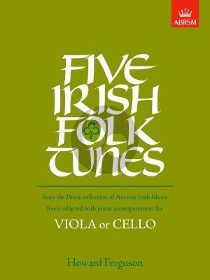 Ferguson 5 Irish Folk Tunes for Viola or Cello and Piano