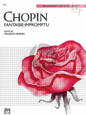 Chopin Fantasie-Impromptu Op. 66 Piano solo (edited by Maurice Hinson)
