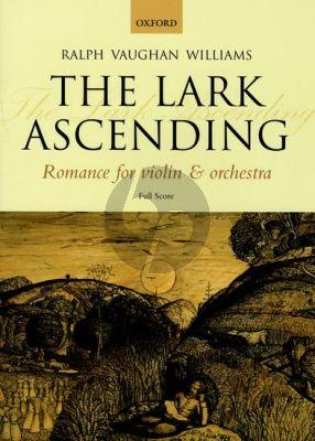 Vaughan Williams The Lark Ascending (Romance) Violin Full Score