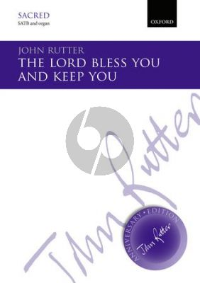 Rutter The Lord bless you and keep you (SATB-Organ or Strings) Vocal Score