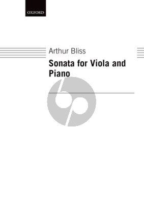 Bliss Sonata Viola-Piano