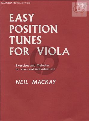 Easy Positions Tunes for Viola