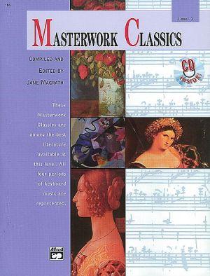 Masterwork Classics Level 3 for Piano (Bk-Cd)