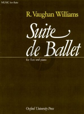 Vaughan Williams Suite de Ballet Flute and Piano