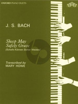 Bach Sheep may safely Graze Piano 4 Hands (arr. Mary Howe)