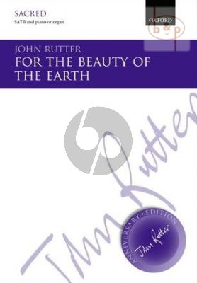 For the Beauty of the Earth SATB and Piano