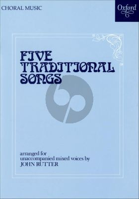 Rutter 5 Traditional Songs SATBarB