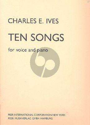 Ives 10 Songs Voice-Piano