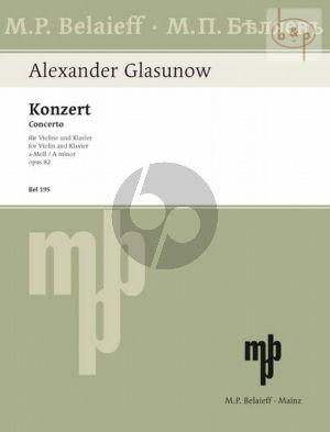 Concerto a-minor Op.82 Violin and Orchestra